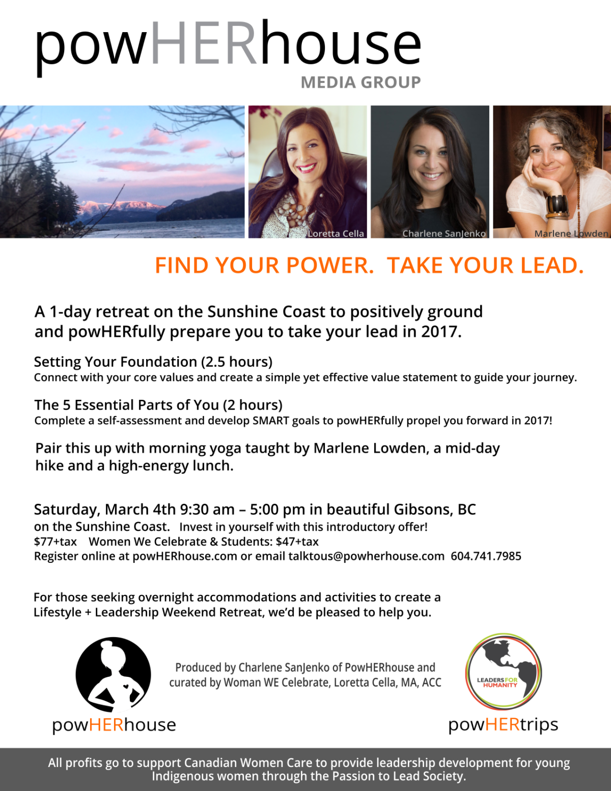 1-Day Lifestyle + Leadership Retreat