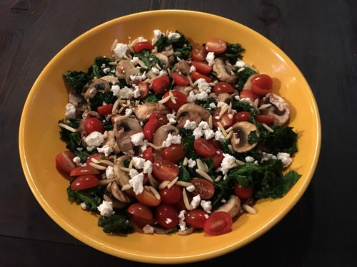 Warm Winter Kale Salad